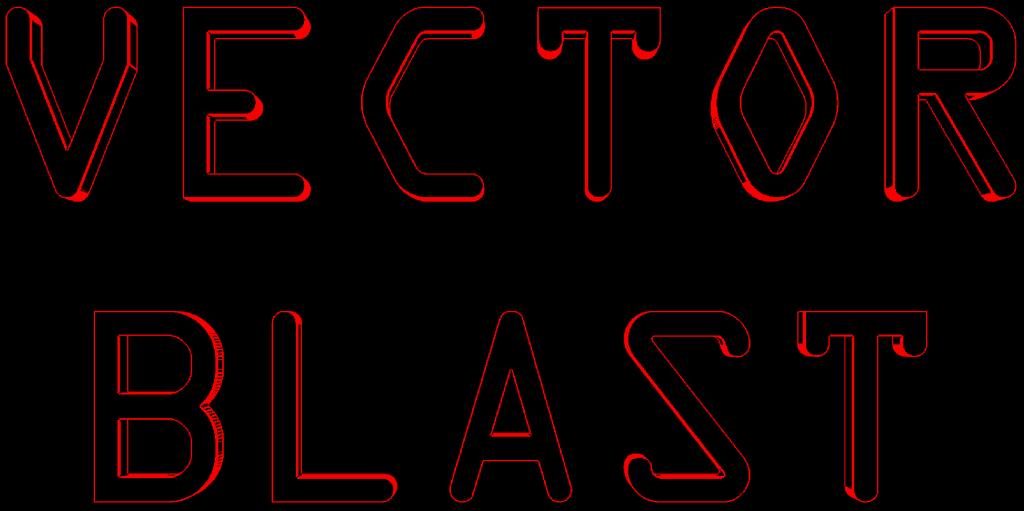 Vector Blast Title