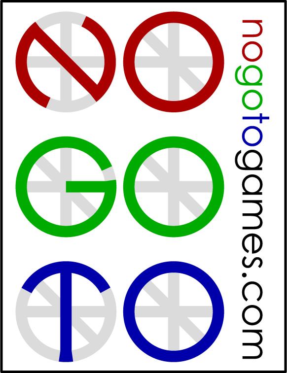 NoGoToGames.com Logo